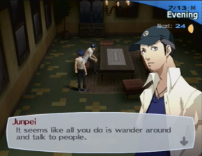 It seems like all you do is wander around and talk to people.